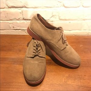 Bass Casual Men's Shoes, Size 10 1/2, brown suede